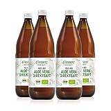 Bio Aloe Vera Direktsaft 100%   aus kontrolliert biologischem Anbau  
