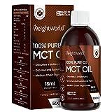MCT Öl C8 - 500ml C8 MCT Oil Vegan - Natürlich aus Kokosöl mit 100%