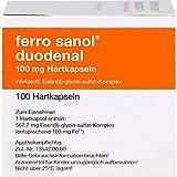 ferro sanol duodenal Hartkapseln gegen Eisenmangel, 100 St. Kapsel
