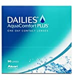 Dailies AquaComfort Plus Tageslinsen weich, 90 Stück, BC 8.7 mm, DIA