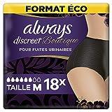 Always Discreet Boutique Inkontinenz-Slips, Größe M, 18 Stück