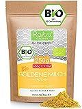 Goldene Milch Pulver BIO 250g + 50g extra I Golden Milk - Kurkuma