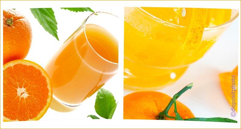 gesunder Saft aus frischem Obst selber machen