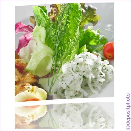 Salat gesund essen: Eisenhaltige Lebensmittel was steckt drin?
