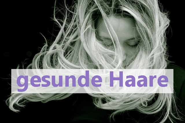 Gesunde Haare Schönes Haar Hilfe bei Haarproblemen