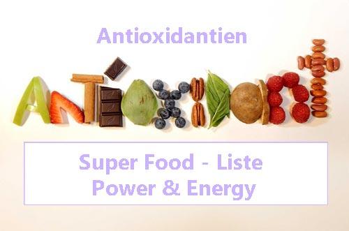 Superfood-Liste Power-Food Lebensmittel 7 wissenswerte Fakten