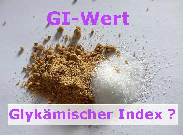 Glykämischer Index Gi-Wert Zuckerersatz finden
